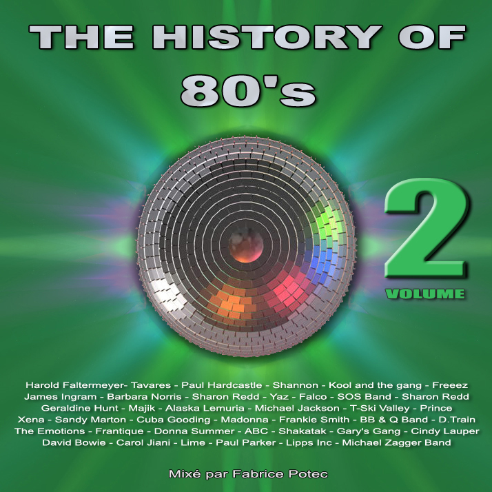 History of 80s volume 2 - MegaMixed by Fabrice Potec