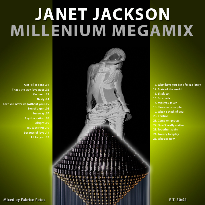 Janet Jackson Millenium Megamix - Megamixed by Fabrice POTEC
