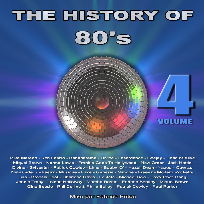 History of 80s volume 4 - MegaMixed by Fabrice Potec