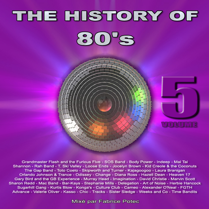 History of 80s volume 5 - MegaMixed by Fabrice Potec