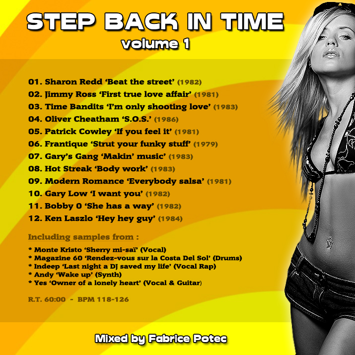 Step Back in Time Volume 1 - Megamixed by Fabrice POTEC