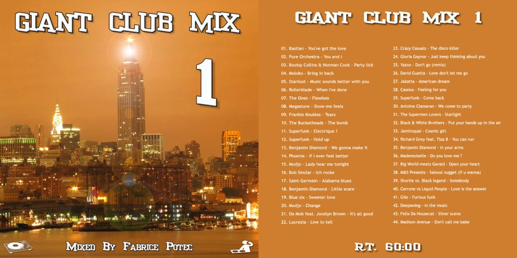 Giant Club Mix 1 by Fabrice Potec