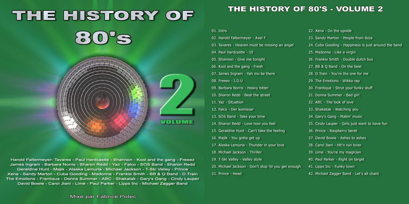 The History of 80's Volume 2