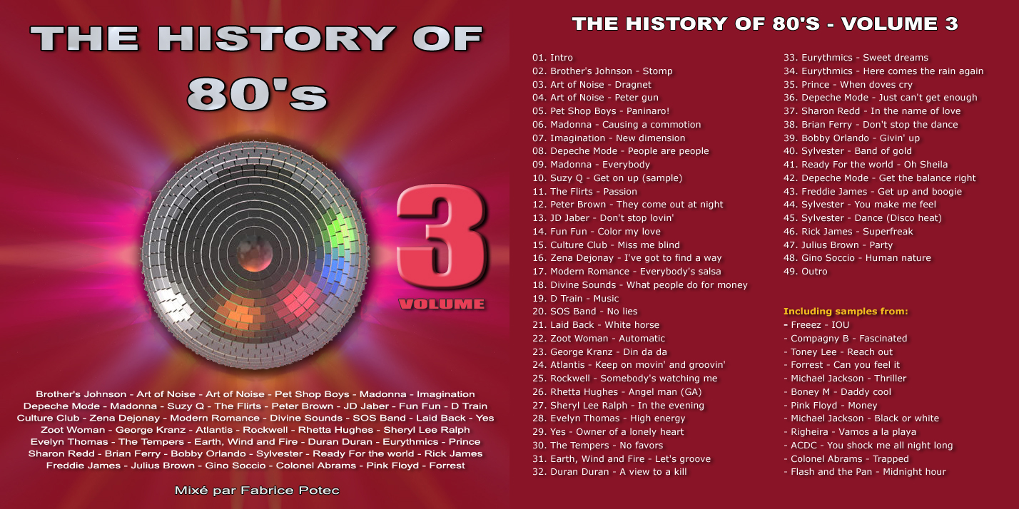 The History of 80s Volume 3