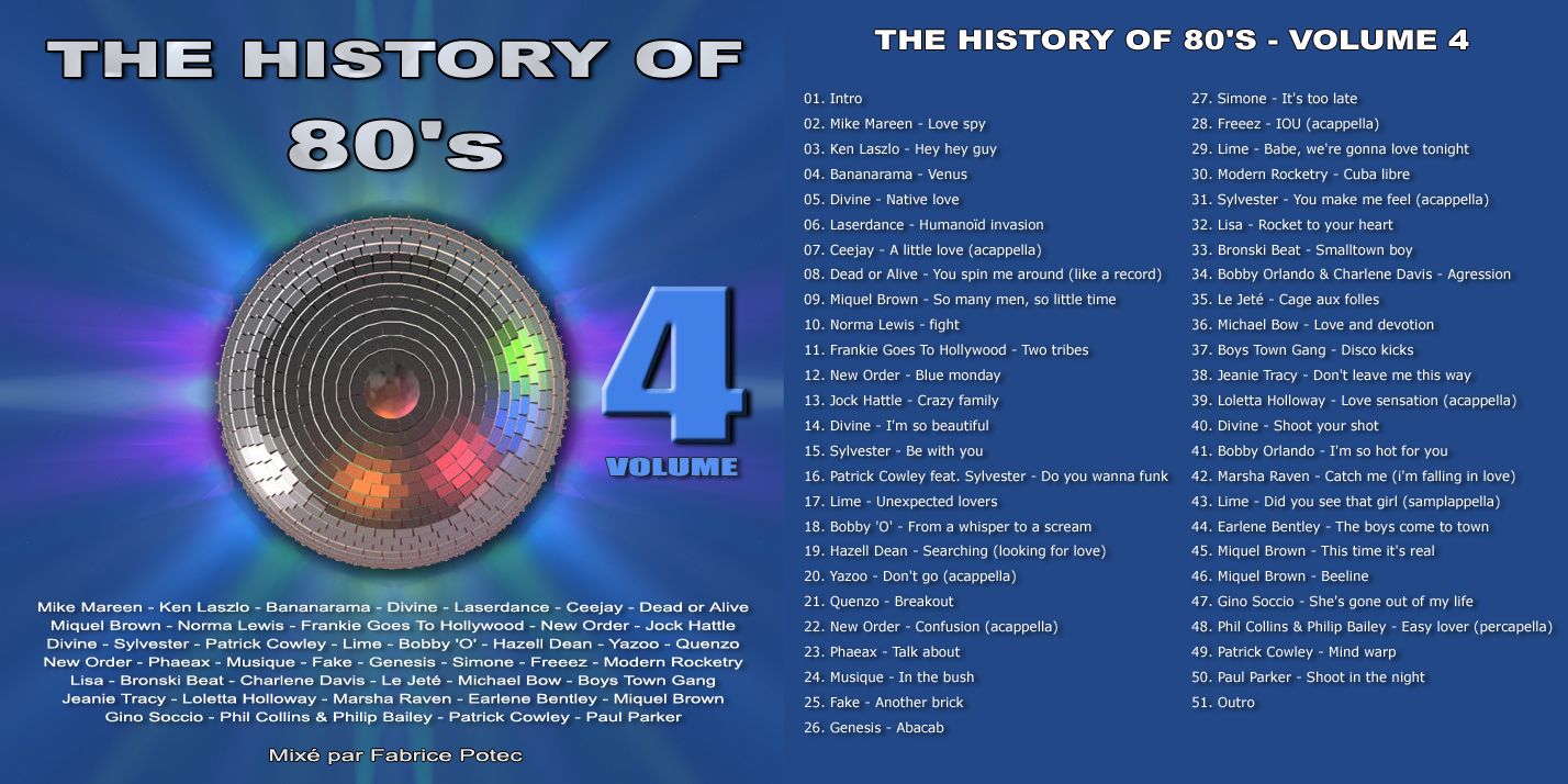 The History of 80's Volume 4