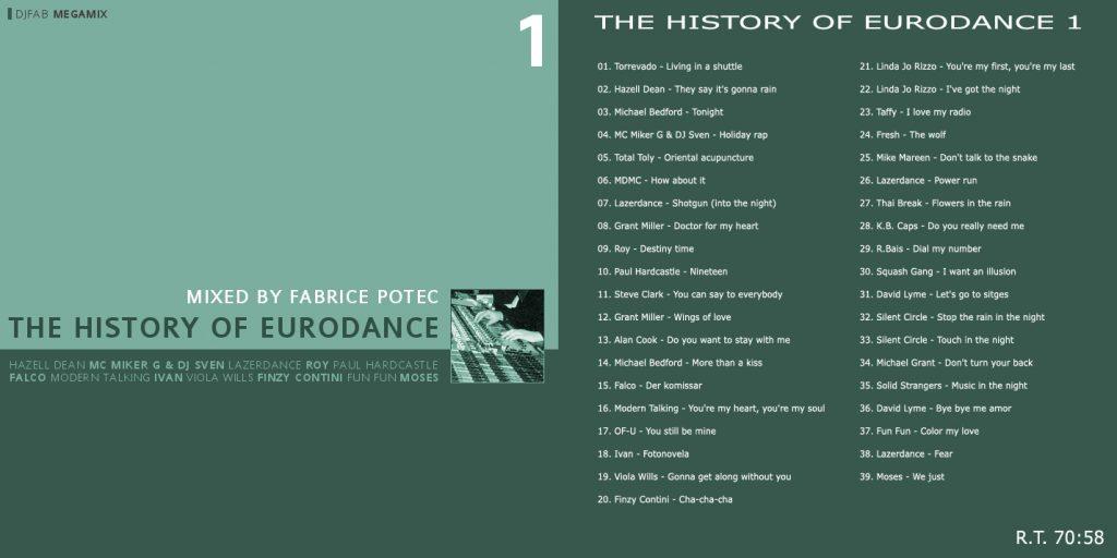 The History of Eurodance volume 1