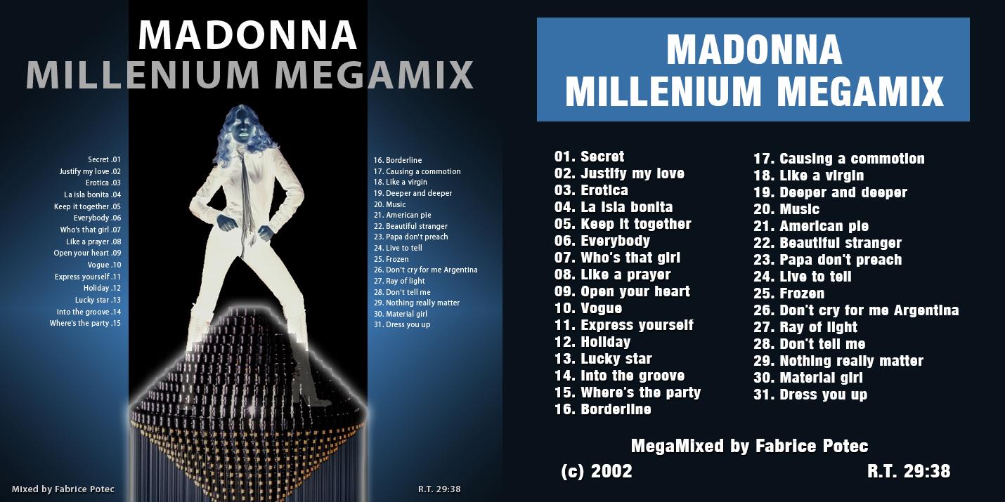 Madonna Millenium Megamix by Fabrice Potec