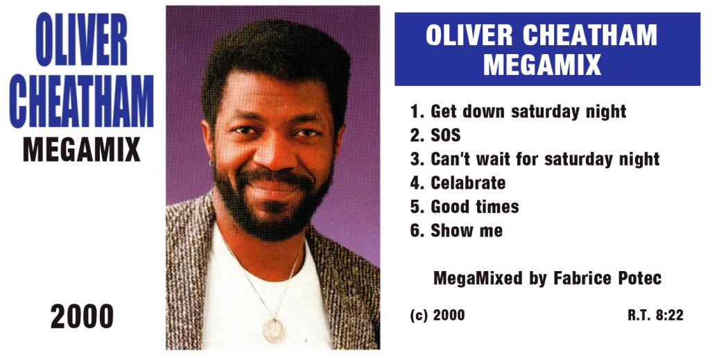 Oliver Cheatham Megamix mixed Fabrice Potec