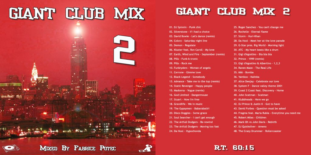 Giant Club Mix 2 by Fabrice Potec
