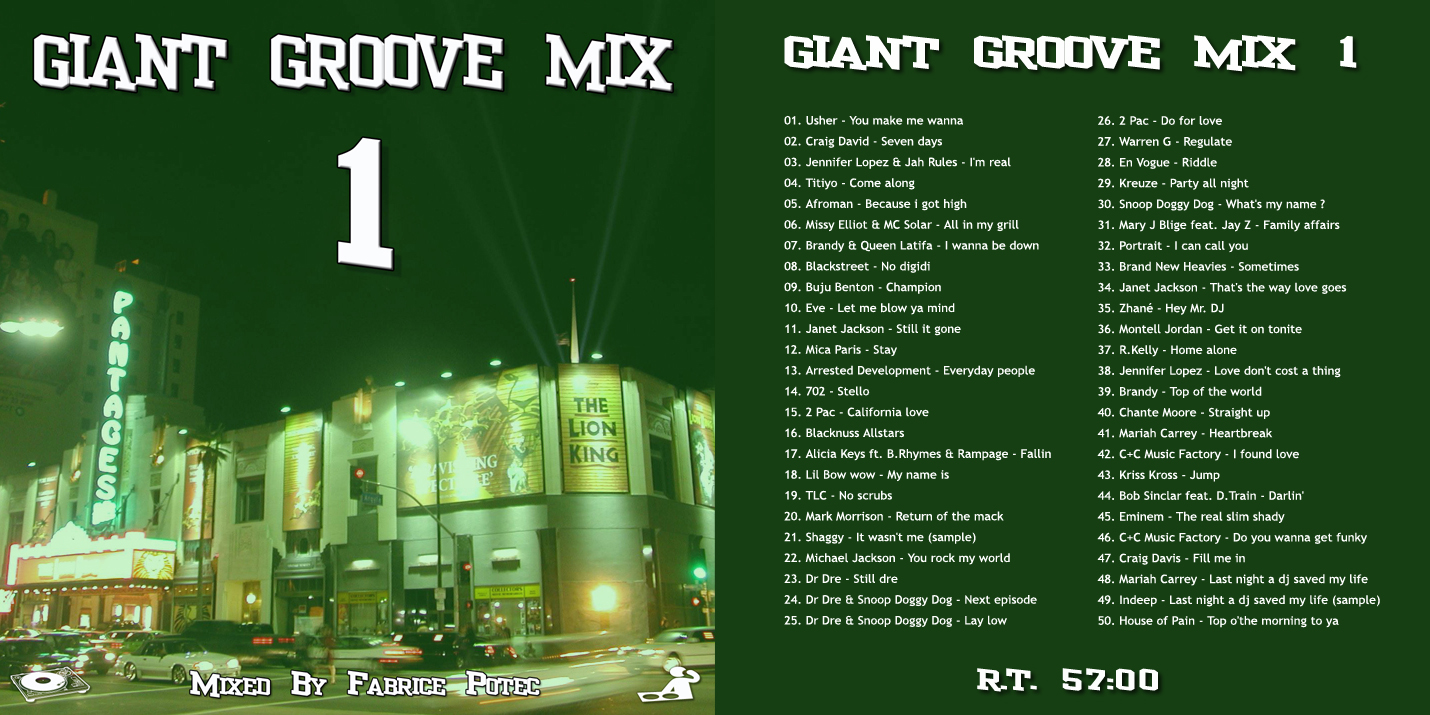 Giant Groove Mix 1 Mixed by Fabrice POTEC